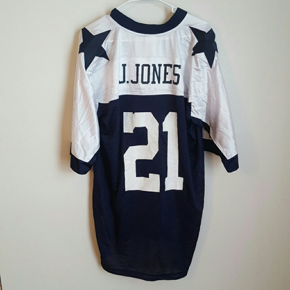new products 2e96d 51ccd Julius Jones #21 Dallas Cowboys Throwback Jersey